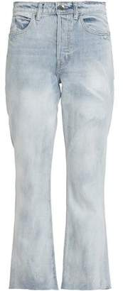 Helmut Lang Faded High-Rise Flared Jeans