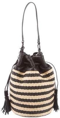 Loeffler Randall Woven Bucket Bag