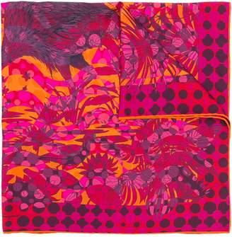 Salvatore Ferragamo layered print scarf