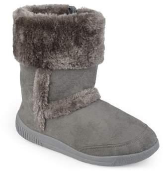 Co Brinley Kids Brinley Girls' Faux Fur Trim Boots