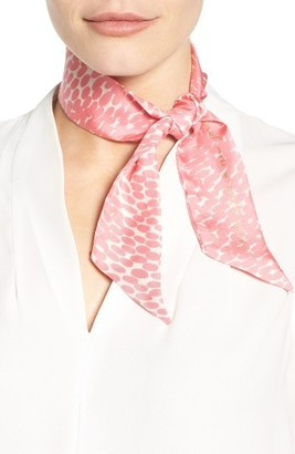 Women's Kate Spade New York Dappled Skinny Scarf $48 thestylecure.com