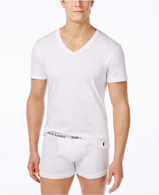 Polo Ralph Lauren 3-Pack +1 Bonus, V- Neck Undershirt
