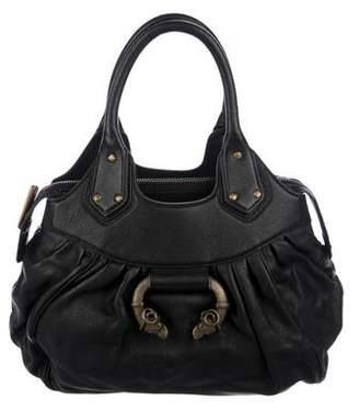 Derek Lam Leather Three Compartment Handle Bag