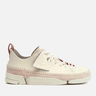 Clarks Women's Trigenic Leather Trainers