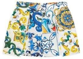Dolce & Gabbana Little Girl's & Girl's Floral Skirt