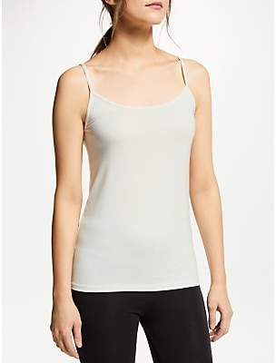 70621f9cee2e at John Lewis and Partners · John Lewis & Partners Heat Generating Thermal  Camisole, Ivory