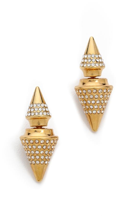 Vita Fede Double Titan Crystal Earring