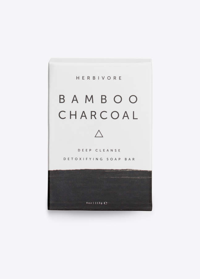HERBIVORE / Bamboo Charcoal Cleansing Bar Soap