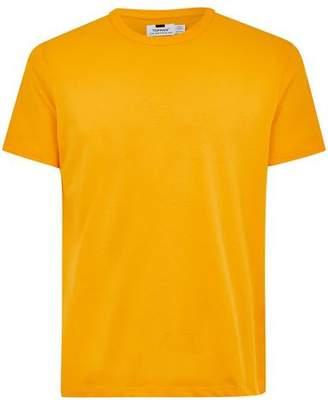 Topman Mens Classic Yellow T-Shirt