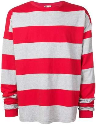 Marni longsleeved striped T-shirt