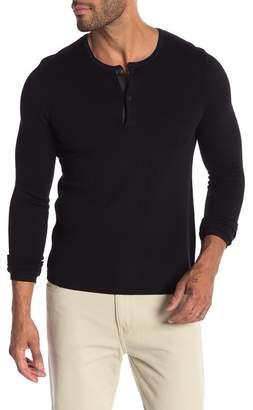 The Kooples Collar Contrast Sweater