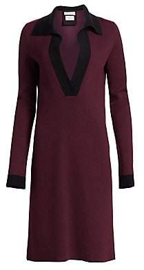 Bottega Veneta Women's Cashmere-Blend Polo Dress