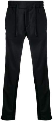 Christian Pellizzari straight leg track pants