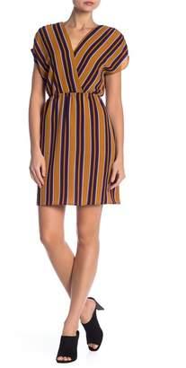 Como Vintage Multi Colored Stripe Dress