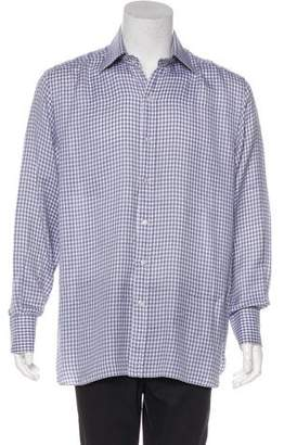 Stefano Ricci Silk French Cuff Shirt