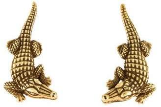 Kieselstein-Cord 18K Alligator Clip-on Earrings