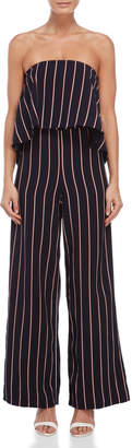 Do & Be Do + Be Striped Tube Jumpsuit