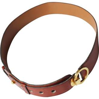Hermes Vintage Camel Leather Belts