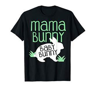 Womens Mama bunny Easter Shirt Pregnant Mom Gift wife gift