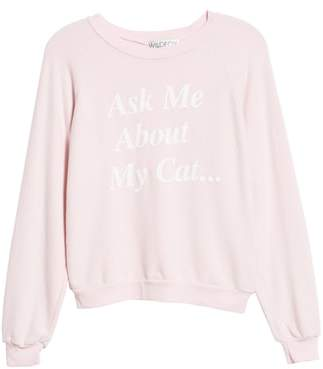 Wildfox Couture My Cat Sweatshirt