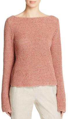 Theory Lalora Back Cutout Sweater $255 thestylecure.com
