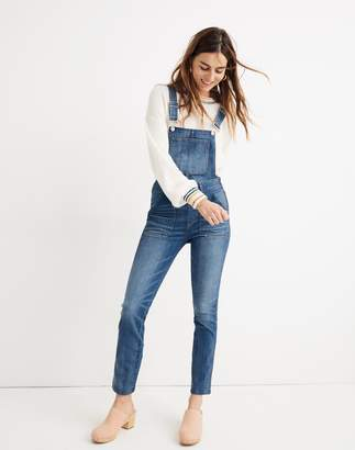 21231d458ee Madewell Petite Skinny Overalls in Jansing Wash