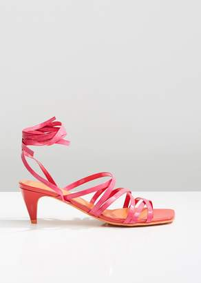 Molly Goddard Tina Strappy Sandals