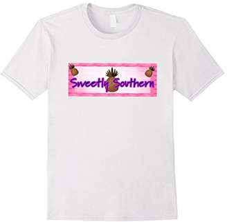 Sweetly Southern Pineapple Trendy Trending T-Shirt
