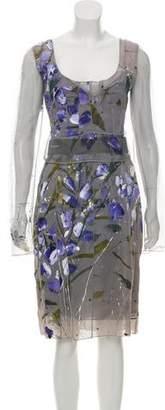 Dolce & Gabbana Silk Floral Print Dress w/ Tags