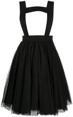 Comme des Garcons polka tulle pinafore skirt