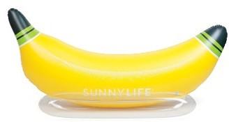 Sunnylife Inflatable Banana Pool Float $42 thestylecure.com