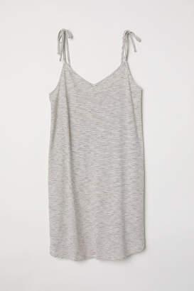 H&M Modal-blend Jersey Dress - Beige