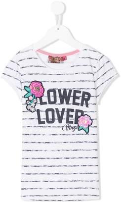 Vingino mixed-print T-shirt