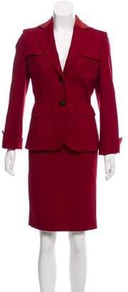 Les Copains Wool Knee-Length Skirt Suit