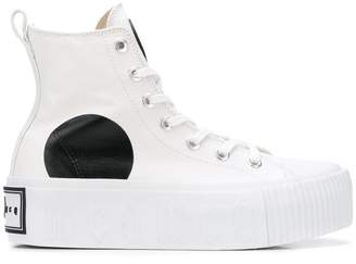 McQ Swallow platform high-top sneakers