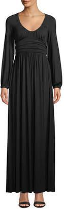 Rachel Pally Mallory Scoop-Neck Maxi Dress, Plus Size