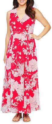 Studio 1 Sleeveless Floral Maxi Dress