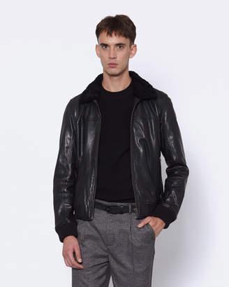 Aviator Leather Jacket