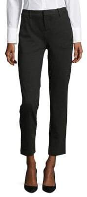 Lord & Taylor Petite Ponte Ankle Trousers