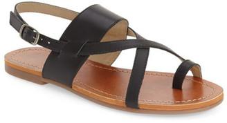 Lucky Brand Ellsona Slingback Sandal $59 thestylecure.com