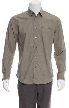 John Varvatos Tartan Plaid Casual Shirt