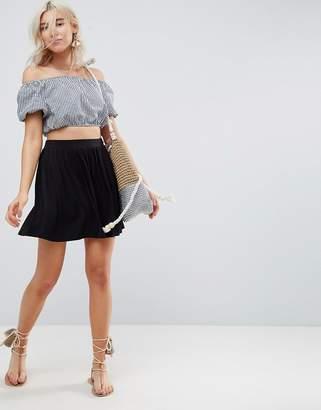 Asos Design DESIGN mini skater skirt
