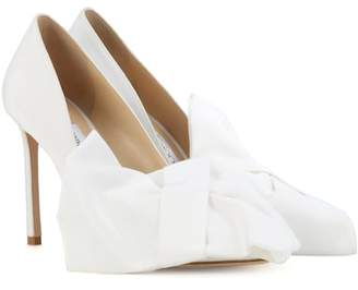 Jimmy Choo X Off-White Mary Bow 100 pumps