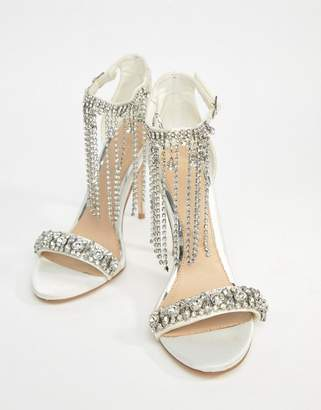 Asos Honor Premium Bridal Embellished Heeled Sandals