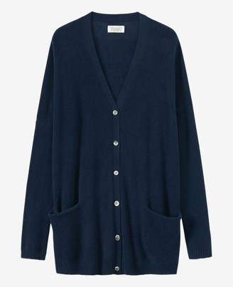Toast Long Cashmere/Wool Cardigan