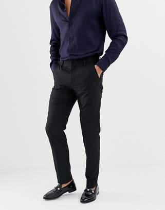 French Connection Plain Slim Fit Pants