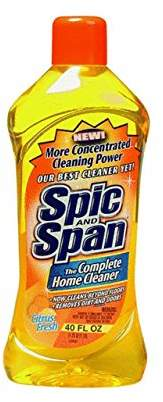 Spic and Span Dilutable Liquid Cleaner Multi-Surface & Floor Cleaner