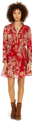 Ralph Lauren Denim & Supply Floral Pleated-Bib Dress $125 thestylecure.com