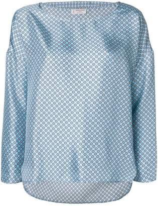 Alberto Biani floral print blouse