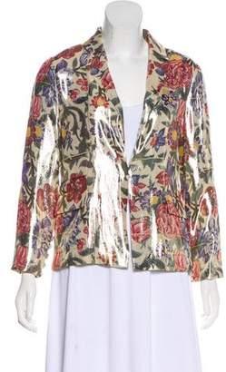 Chanel Paris-Dubai Silk Blazer